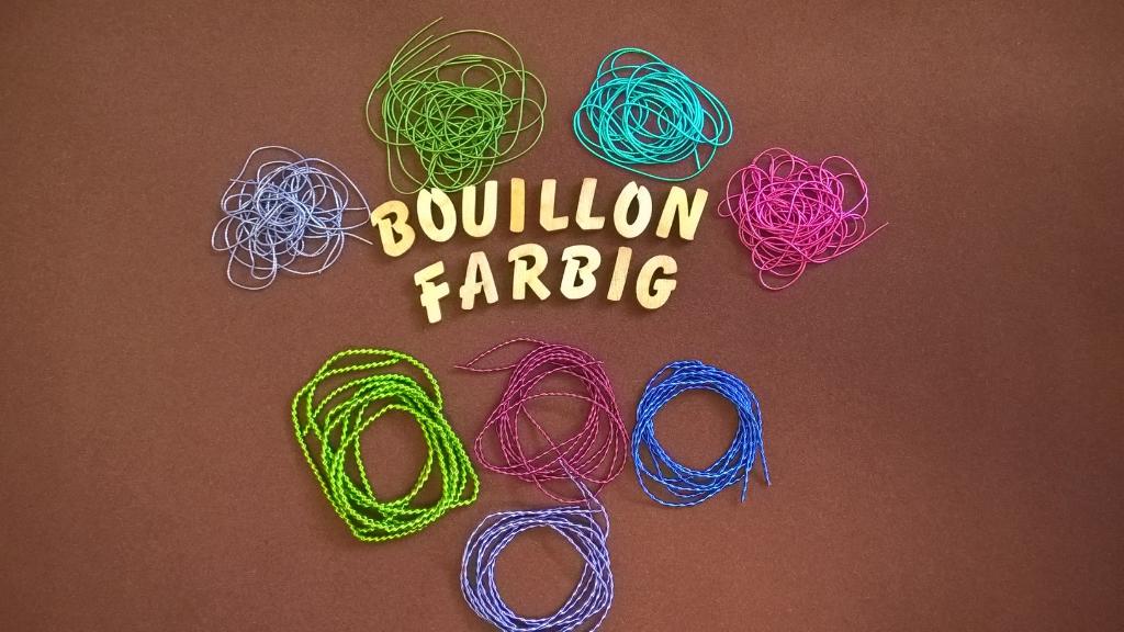 Bouillon, Klosterbeiten, Haarnadeln, Blüten